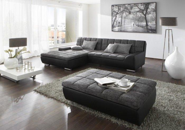 Contemporary corner sofa - for living rooms