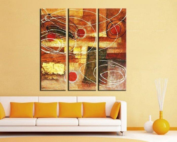 Contemporary wall art - an abstract painting