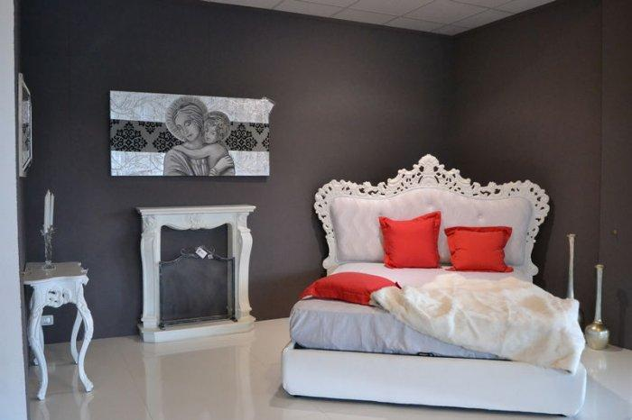 Eclectic fitted bedroom - with eclectic furniture