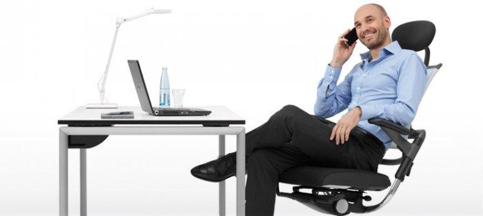 Office chairs and desk an CEO