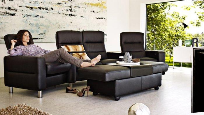 Home theater lounges