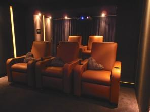 Home theater seating 5