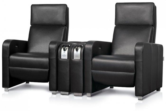 Home theater seating set