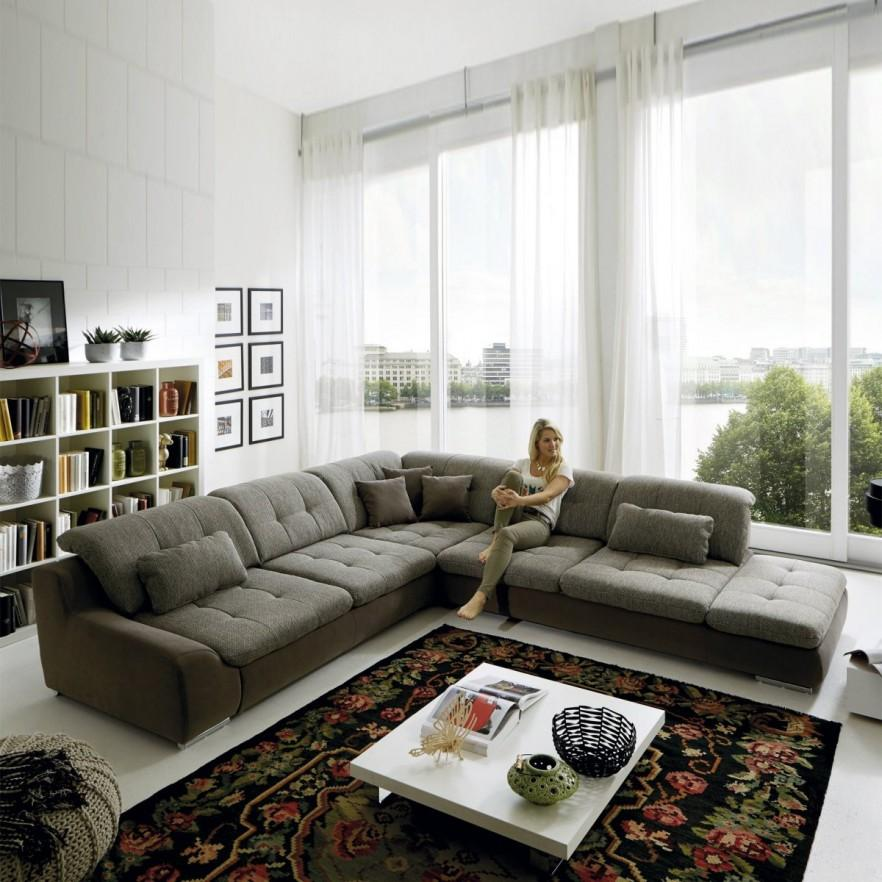 Corner Sofa Room Designs: Contemporary Living Room Ideas With Sofas