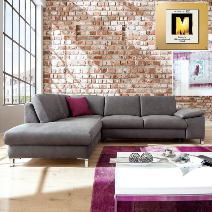 Industrial corner sofa - in loft living room