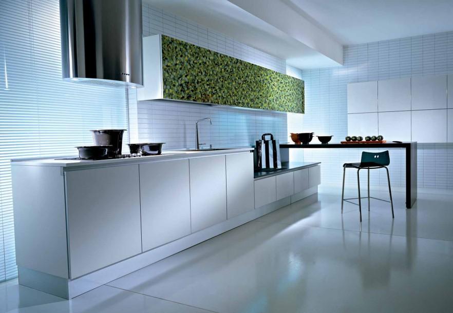 Kitchen contemporary wall art - green grass