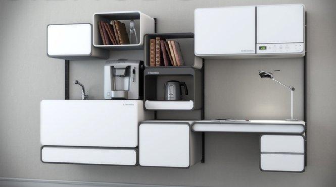 Functional modular kitchen