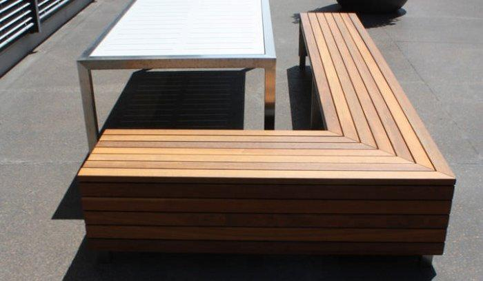 Minimalist picnic table - with elegant design