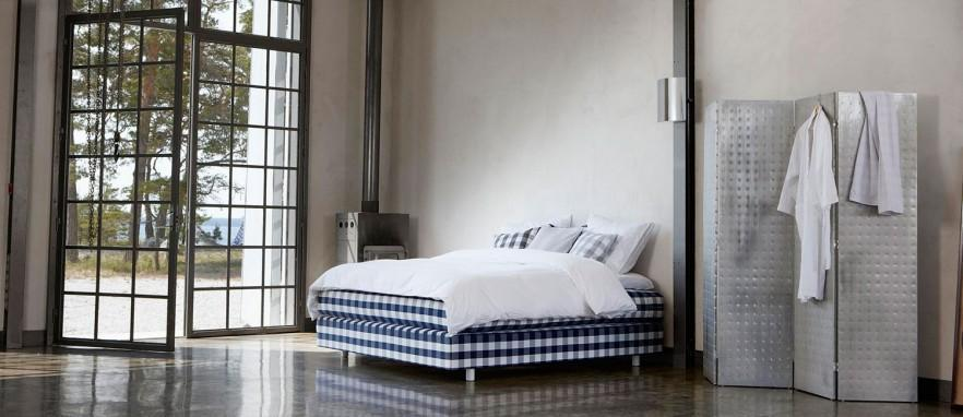 Modern adjustable bed - in blue