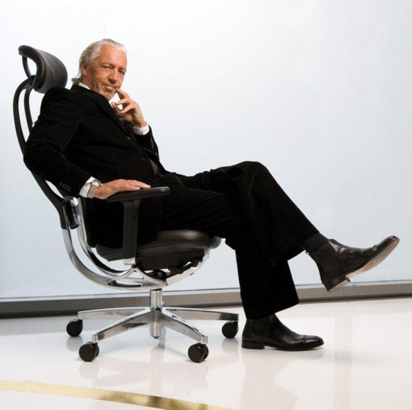 CEO office chair in black