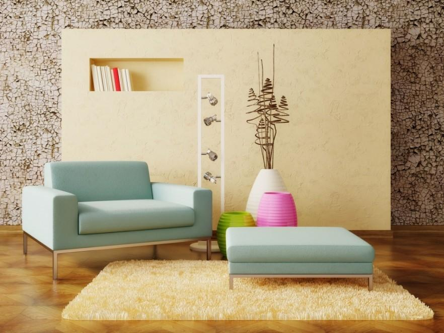 Modern wall art - with niches