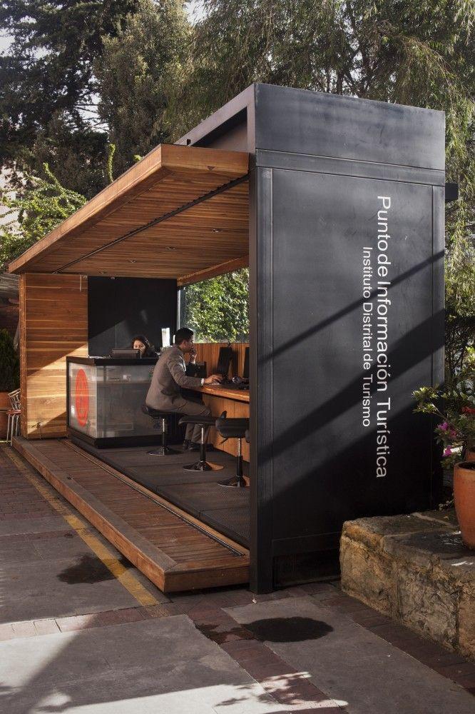 Outdoor cafe bar