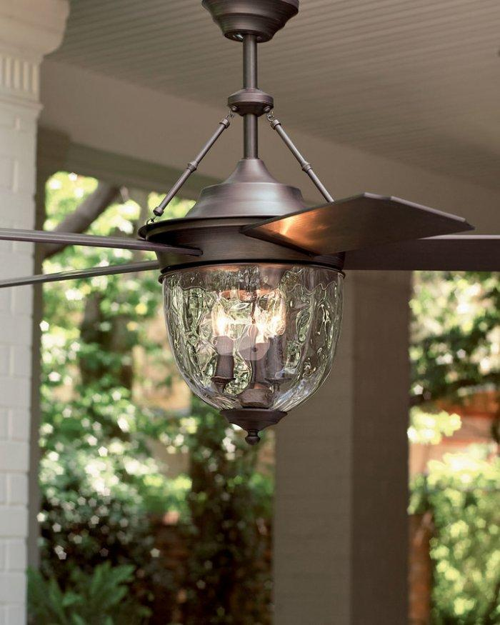Outdoor Table Top Fan : Outdoor ceiling fans for a stylish veranda or porch
