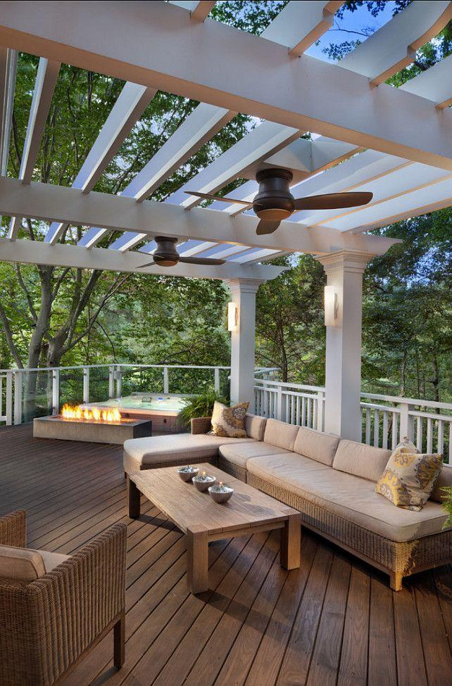 Outdoor ceiling fans for a stylish veranda or porch for Outside renovation ideas