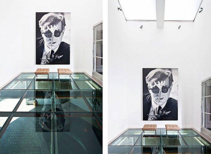 Urban contemporary wall art - portrait of a man