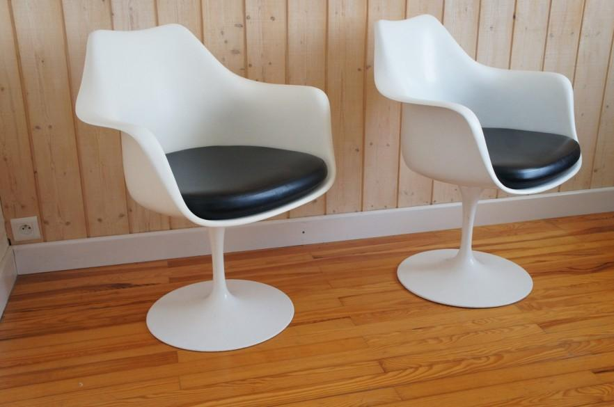 Black and white Vintage chairs