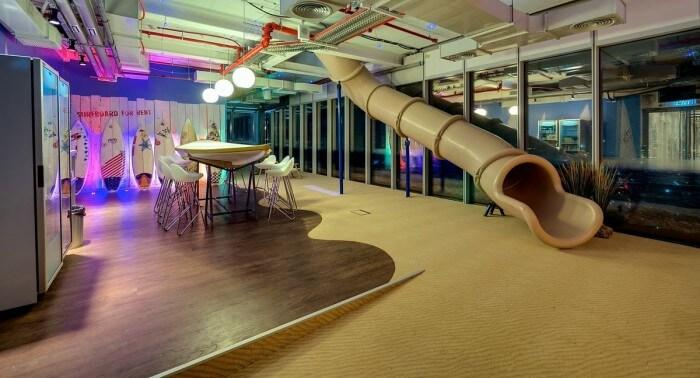Stunning Interior And Office Furniture Ideas From The Google's new Tel Aviv Office