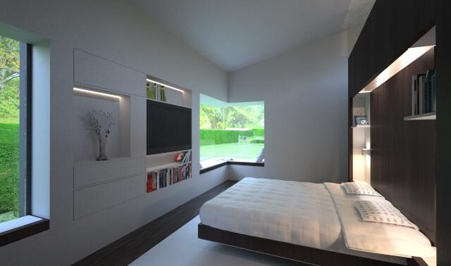 bedroom design contemporary modern building residential house home