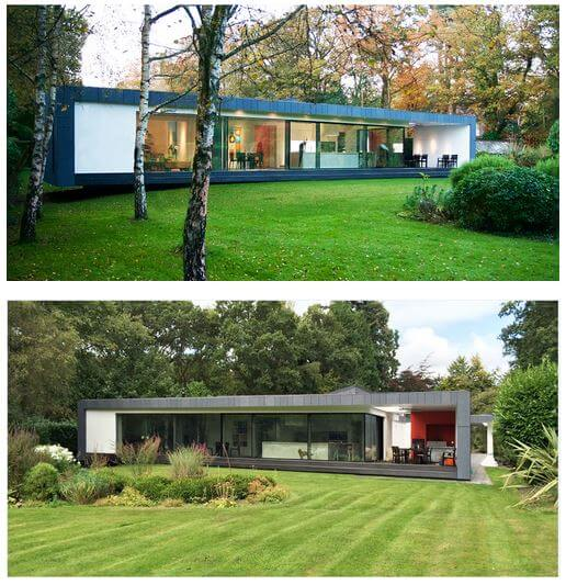 A Beautiful Touch From A Deep Forest - Contemporary Modern House in the UK - London Area: contemporary modern building residential house home