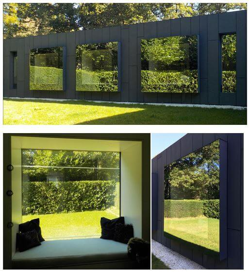 A Beautiful Touch From A Deep Forest - Contemporary Modern House in the UK - London Area: contemporary modern window bay window cube window