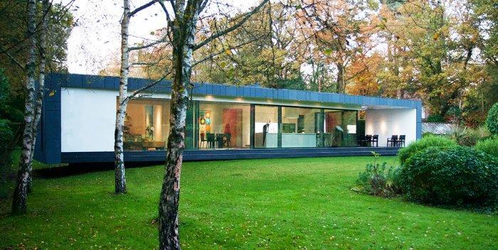 A Beautiful Touch From A Deep Forest - Contemporary Modern House in the UK - London Area