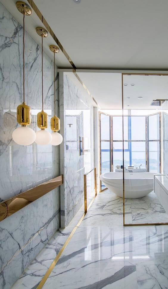 2016 Bathroom Trends: A touch of brass