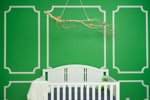 8 Great Ideas for a Nursery Filled with Color and Joy: Go green