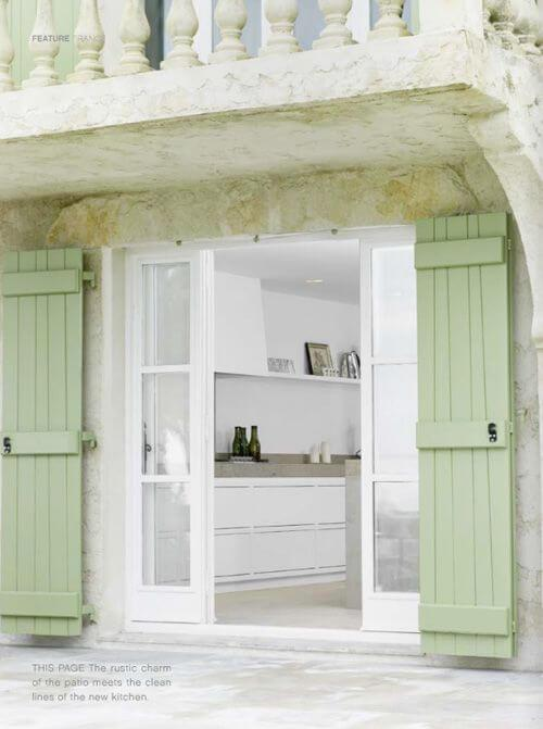Shutters or Curtains. Know The Pros and Cons: Inspirational images for Traditional shutters