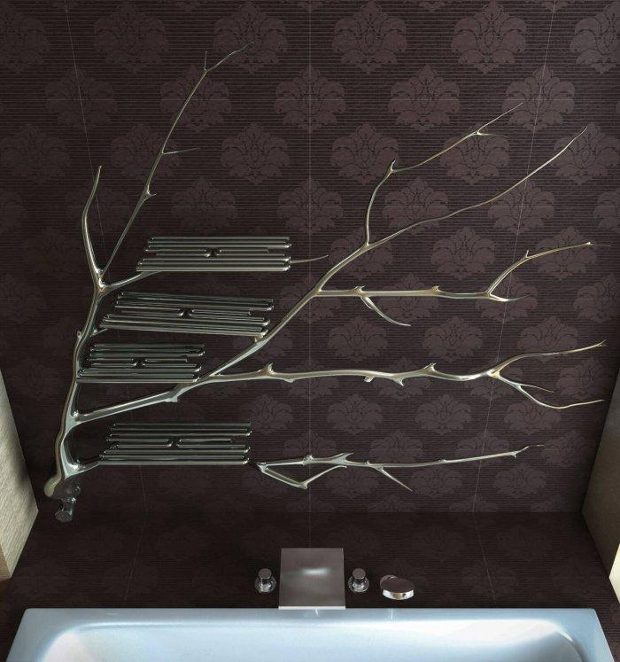 Thinking out of the box has its own hit: a stunning Tree Radiator