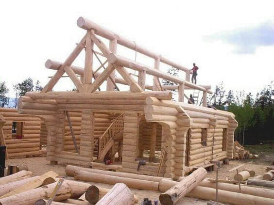 Good To know before building a log cabin: logcabin construction