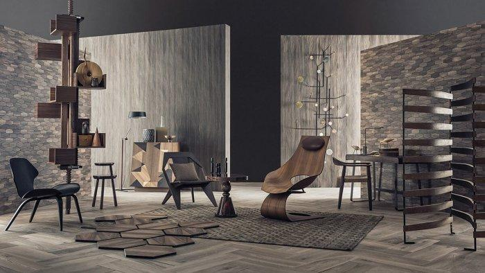 Organic Modern on a Budget: The 5 Tell-tale Features: Different textures are combined