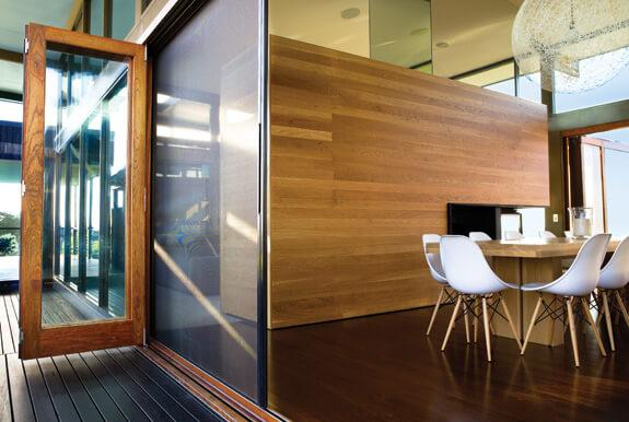 Three Ways That You Can Enjoy Opening Your Home For Fresh Air: sliding insect mesh contemporary design details