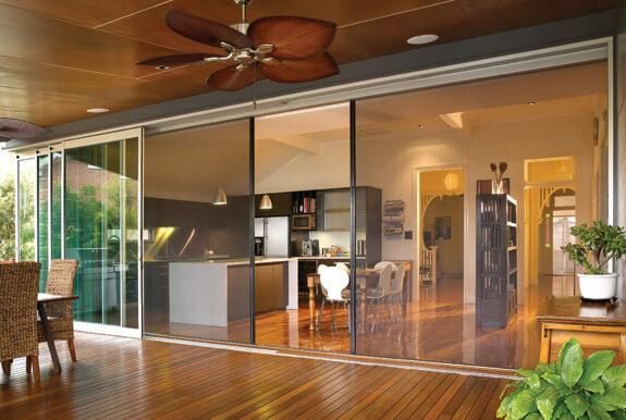 Three Ways That You Can Enjoy Opening Your Home For Fresh Air: sliding insect mesh contemporary design