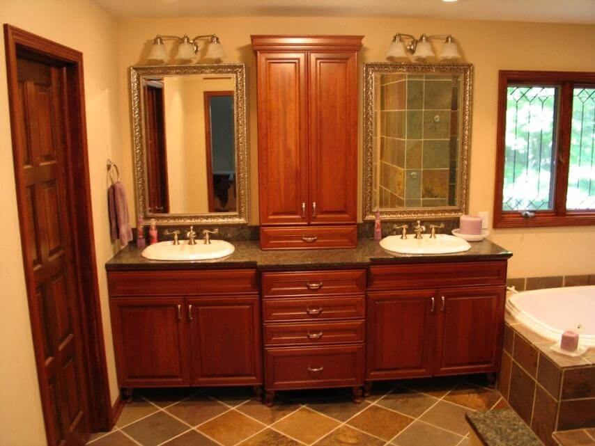 what is a bathroom vanity design a bathroom vanity to fit the space