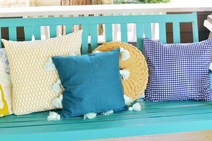 Decorative Pillows - a Perfect Touch To Interior Design: Pillow with tassels