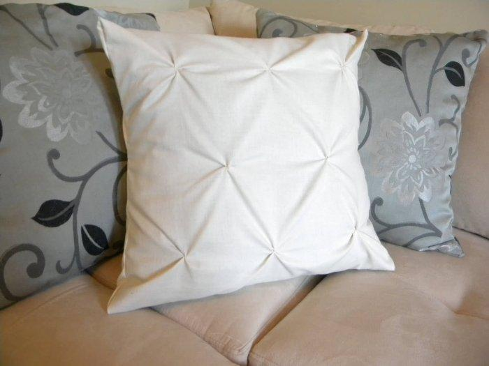 Decorative Pillows - a Perfect Touch To Interior Design: Pillow with pintucks