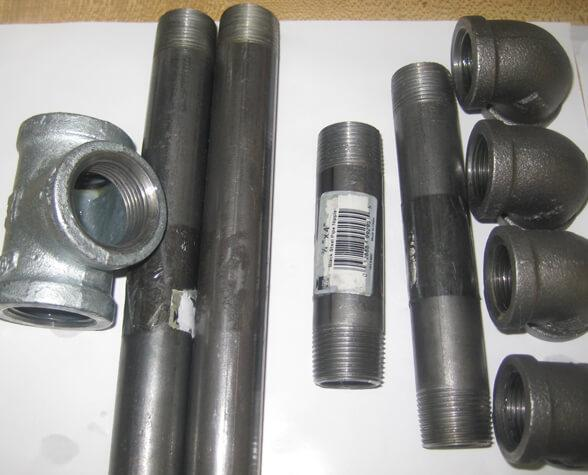 Polybutylene Pipes: galvanized drain pipe