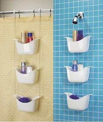 Bathroom Organization Tips To The Rescue: Shower Caddy