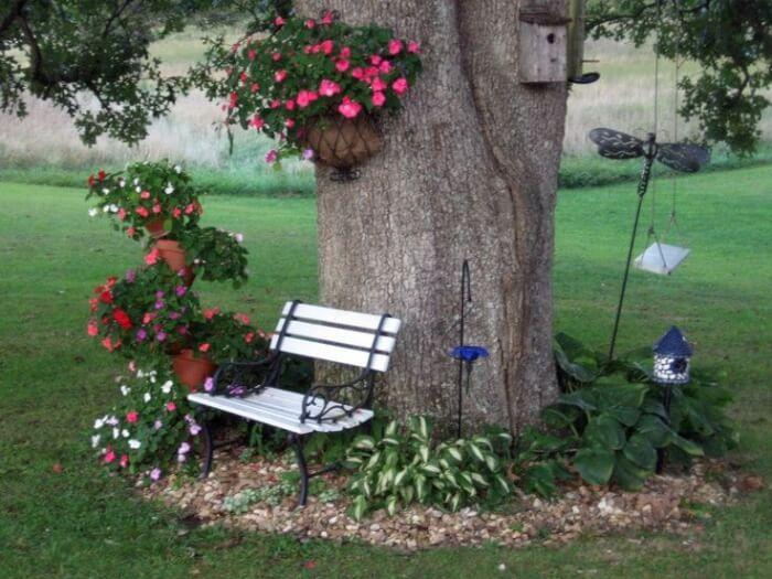 Preserving Existing Elements of a Space During Landscape Construction: Old Trees