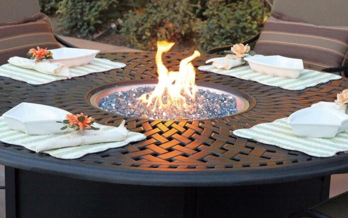Guide to Outdoor Fire Tables: Key Valve