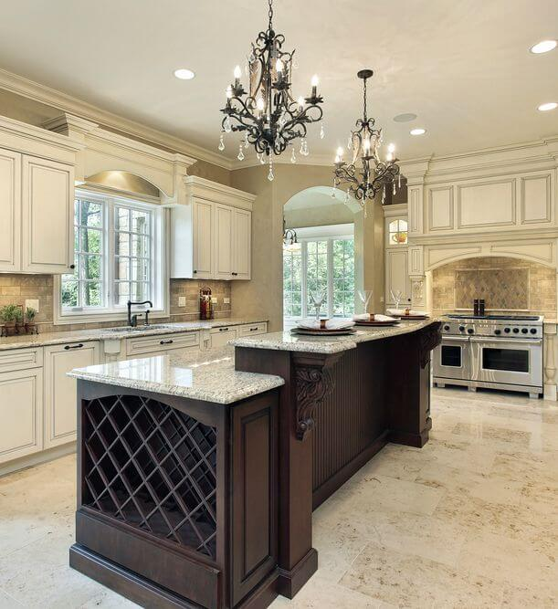 "Luxury Home Kitchens: What Is A ""Messy Kitchen"" And Why This Trend For Luxury"