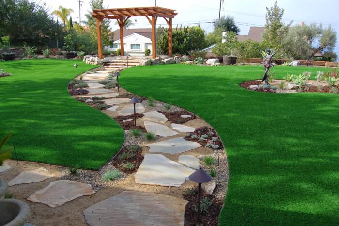 Preserving Existing Elements of a Space During Landscape Construction: Natural Rock