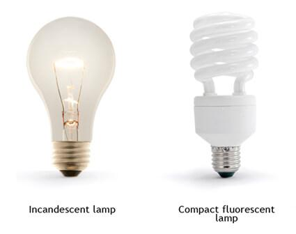 Designing an Energy-Efficient Home: Change Out Incandescent Bulbs