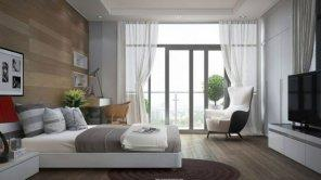 contemporary-bedding-designs-white-window-gray-leather-bed-modern-crystal-chandeliers-purple-mattress-cream-fabric-chair-792x444