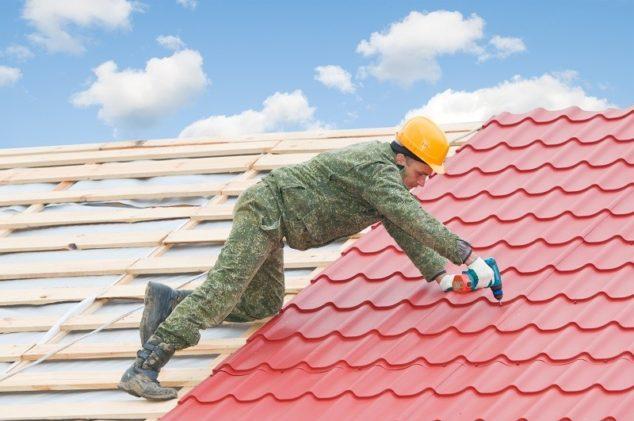Process of roof restoration