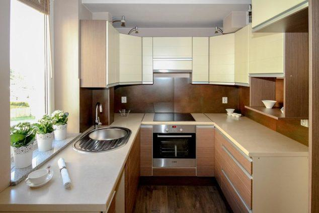Kitchen, Kitchenette, Apartment, Room, House