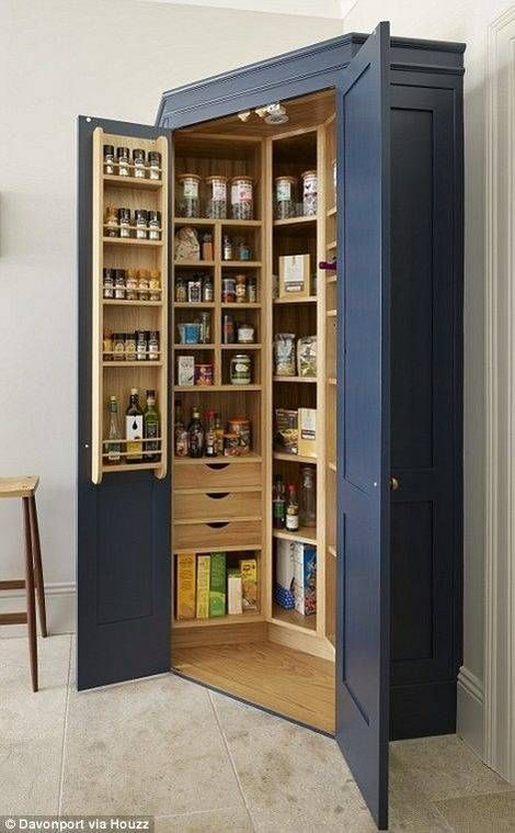 A Whole Cupboard – Filled with Ingredients