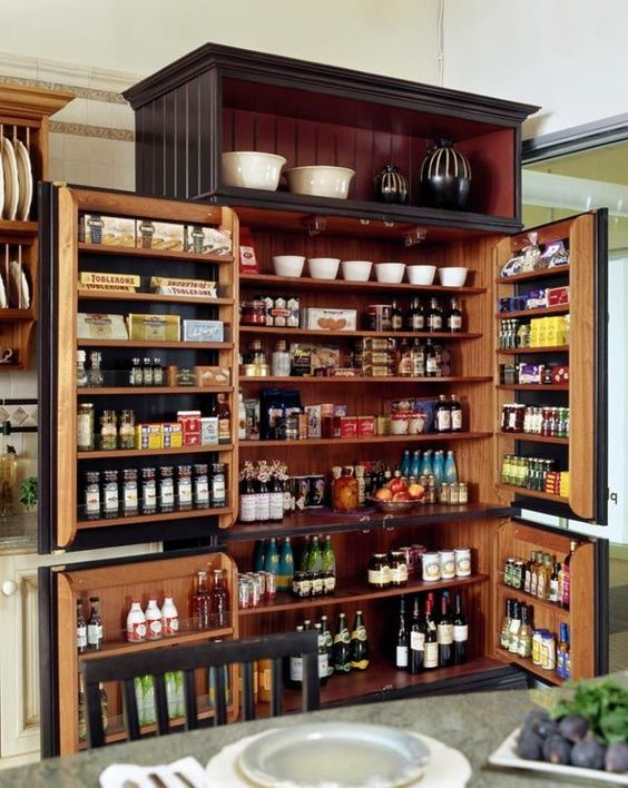 Create a Cupboard – Great Kitchen Pantry Shelving Ideas
