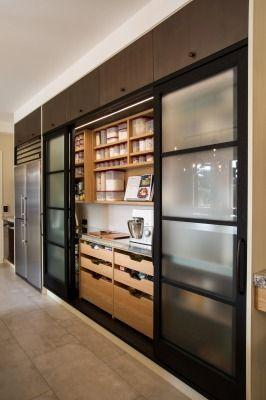 Renovated with Style - Divide Your Pantry from the Kitchen