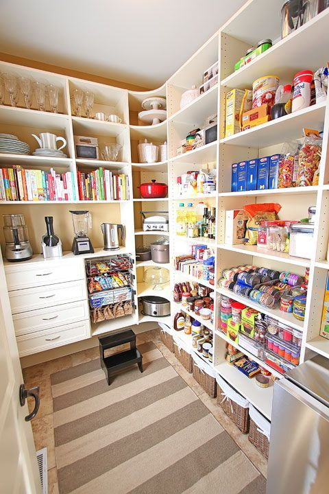 Organized Beautifully - Small Pantry Organization